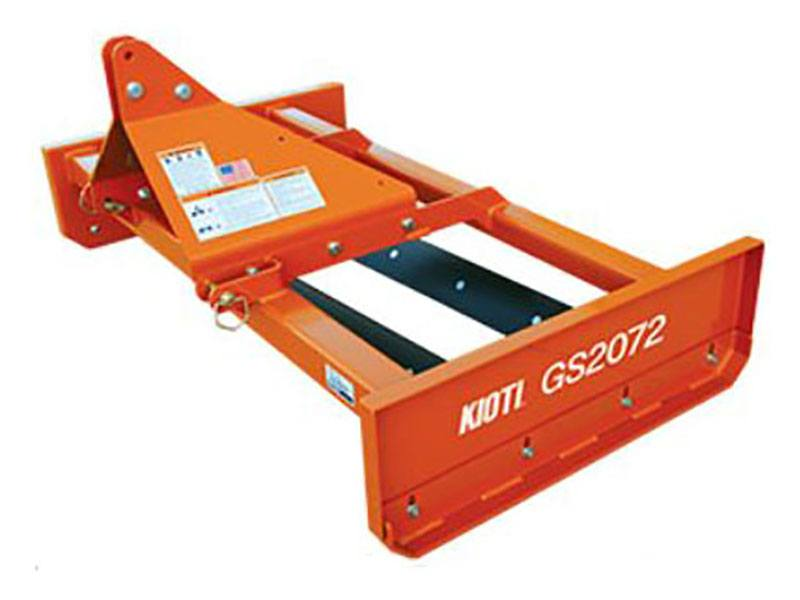 2020 KIOTI GS2072 Standard-Duty 72 in. Grading Scraper without Scarifier in Saucier, Mississippi