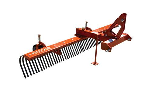 2020 KIOTI LR2572 Standard-Duty 72 in. Landscape Rake in Rice Lake, Wisconsin