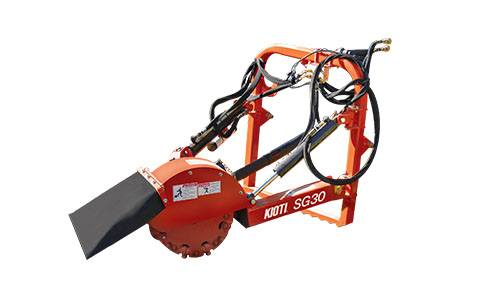 2020 KIOTI SG30 Medium-Duty Stump Grinder in Rice Lake, Wisconsin