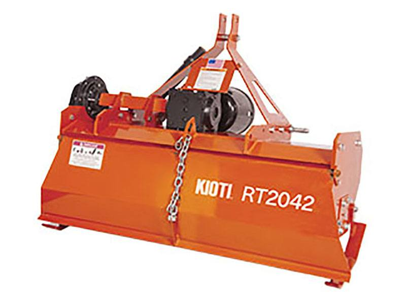 2020 KIOTI RT2042 42 in. Forward Rotation Rotary Tiller in Saucier, Mississippi