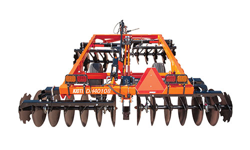2021 KIOTI DH2064 64 in. Standard-Duty Disc Harrow in Brockway, Pennsylvania