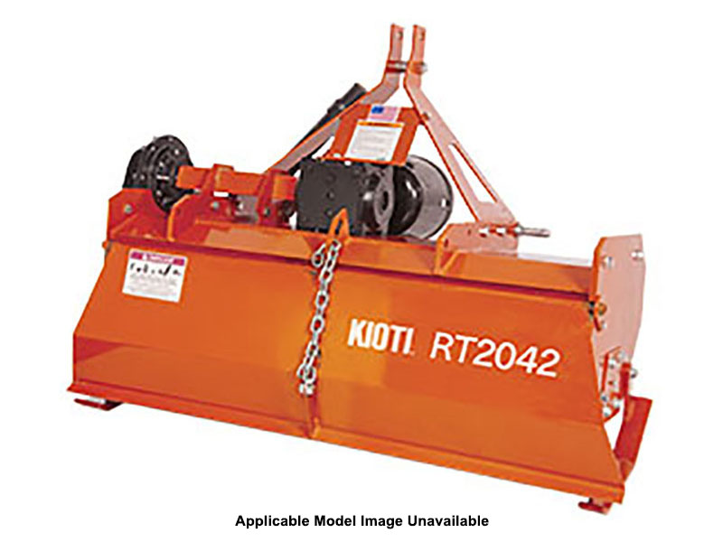 2021 KIOTI RT2048 48 in. Forward Rotation Rotary Tiller in Saucier, Mississippi