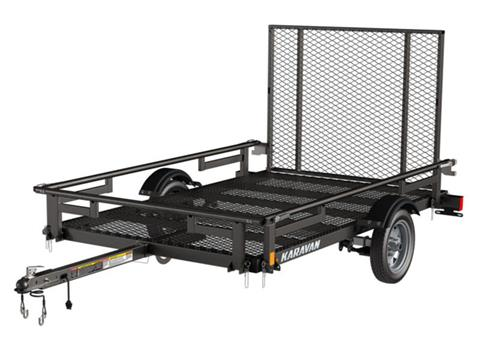 2020 Karavan Trailers 5 x 8 ft. Steel with Steel Mesh Floor in Chico, California