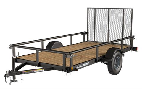 2020 Karavan Trailers 6 x 12 ft. 2990 lb. Steel 967 lb. (ST215/75D14C) in Chico, California