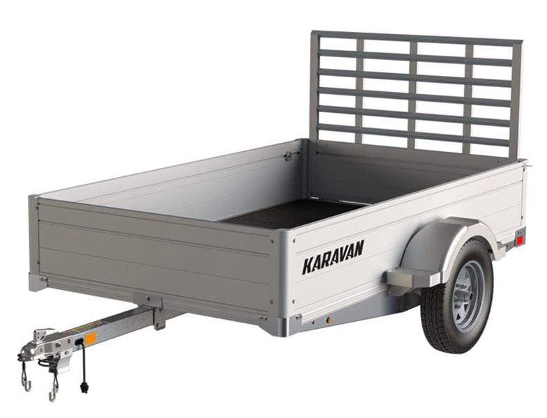 2020 Karavan Trailers 4.5 x 8 ft. Anodized Aluminum in Augusta, Maine - Photo 1