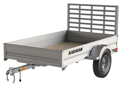 2021 Karavan Trailers 4.5 x 8 ft. Anodized Aluminum in Dimondale, Michigan