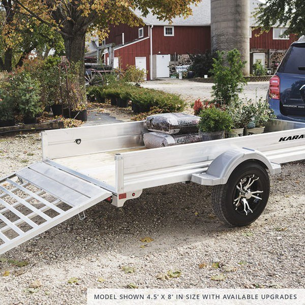 2021 Karavan Trailers 4.5 x 8 ft. Anodized Aluminum in Eugene, Oregon - Photo 3
