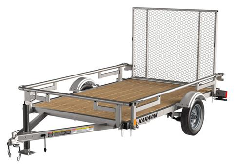2021 Karavan Trailers 5 x 8 ft. Steel in Dimondale, Michigan