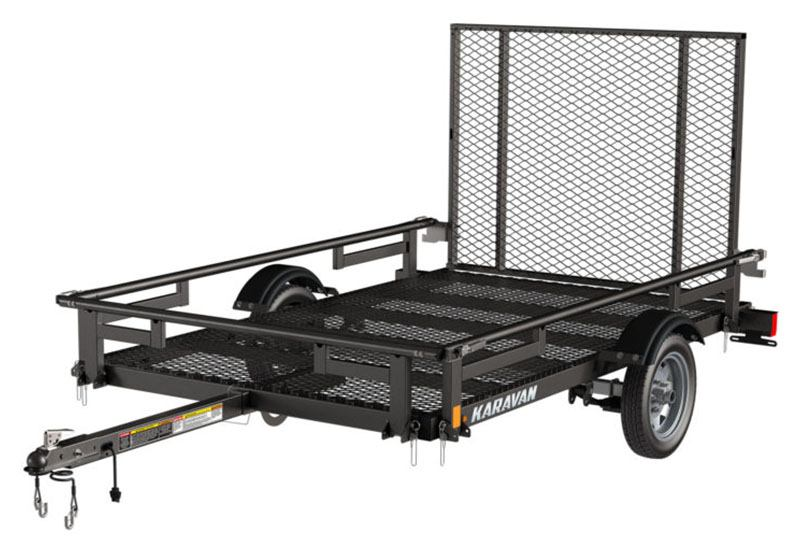 2021 Karavan Trailers 5 x 8 ft. Steel with Steel Mesh Floor in Wilkes Barre, Pennsylvania - Photo 1