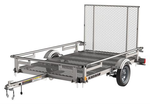 2021 Karavan Trailers 5 x 8 ft. Steel with Steel Mesh Floor in Sacramento, California - Photo 1