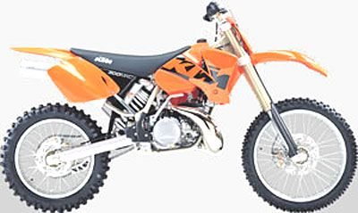2003 KTM 300 MXC in Amherst, Ohio