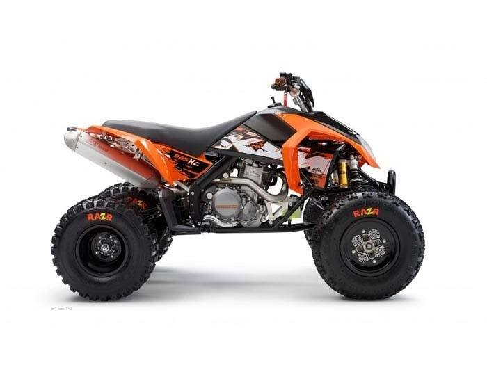 2010 KTM 525 XC in Sioux City, Iowa