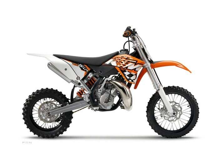 2011 KTM 65 SX in Johnson City, Tennessee