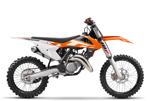 2016 KTM 125 SX in Johnson City, Tennessee