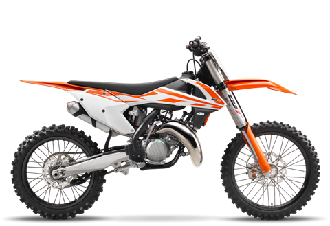 2017 KTM 125 SX in Festus, Missouri