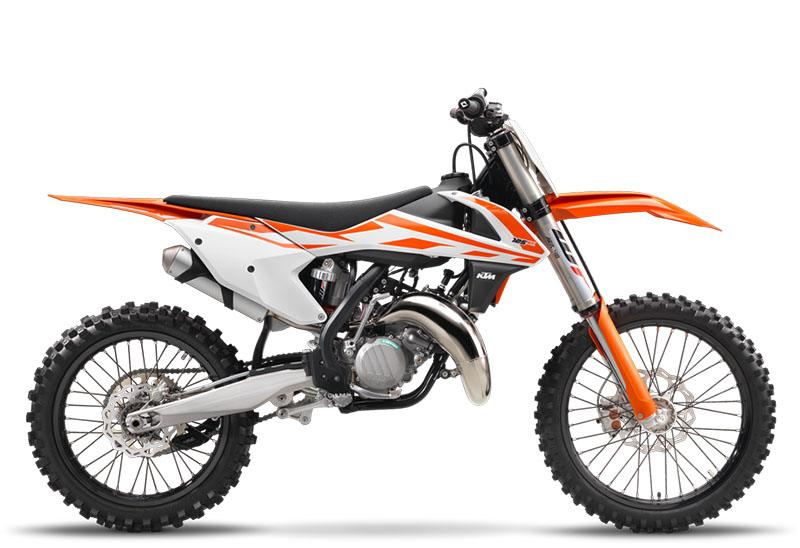 2017 KTM 125 SX in Dalton, Georgia