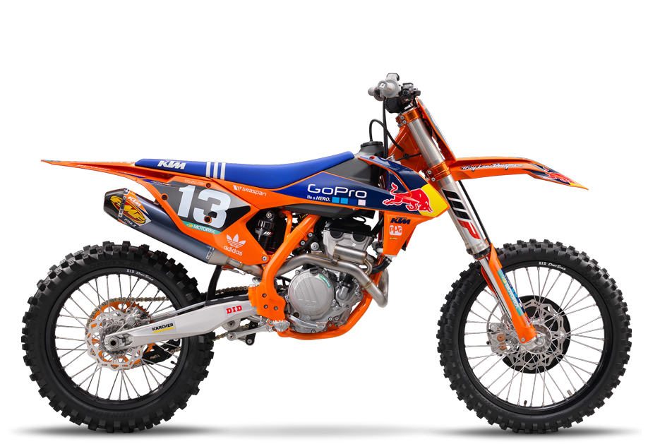 2017 KTM 250 SX-F Factory Edition in Deptford, New Jersey