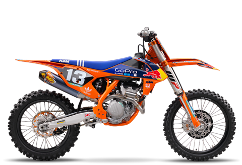 2017 KTM 250 SX-F Factory Edition in Grass Valley, California