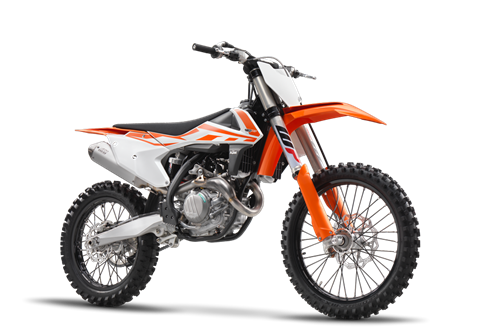 2017 KTM 450 SX-F in Dimondale, Michigan