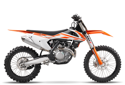 2017 KTM 450 SX-F in Sioux City, Iowa