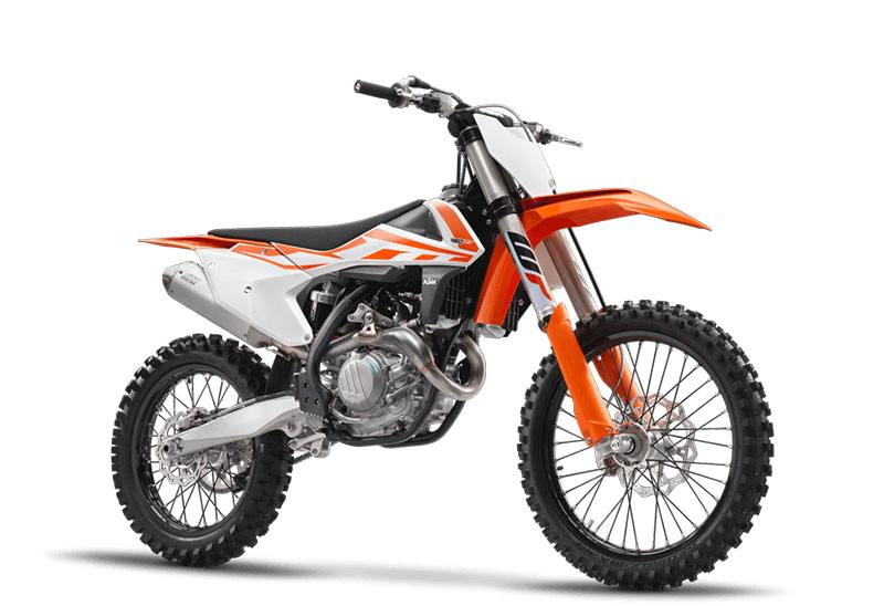 2017 KTM 450 SX-F in Deptford, New Jersey