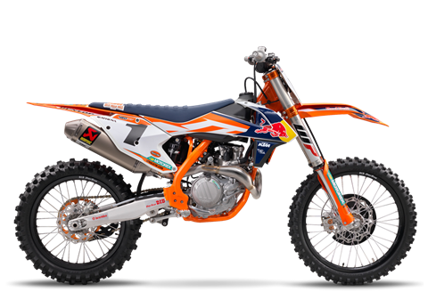 2017 KTM 450 SX-F Factory Edition in Grass Valley, California