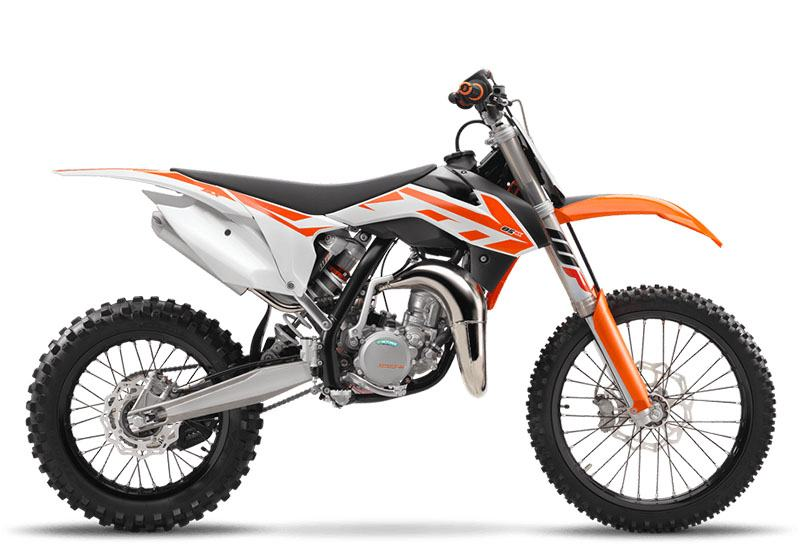2017 KTM 85 SX 17/14 in Lakeport, California
