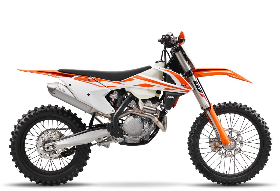 2017 KTM 250 XC-F in Pittsburgh, Pennsylvania