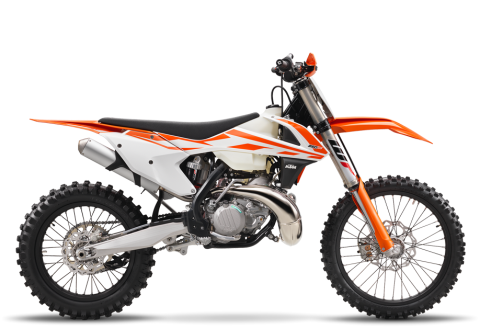 2017 KTM 250 XC in Elk Grove, California