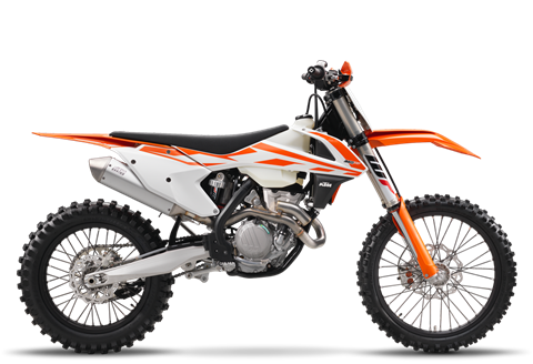 2017 KTM 350 XC-F in Northampton, Massachusetts