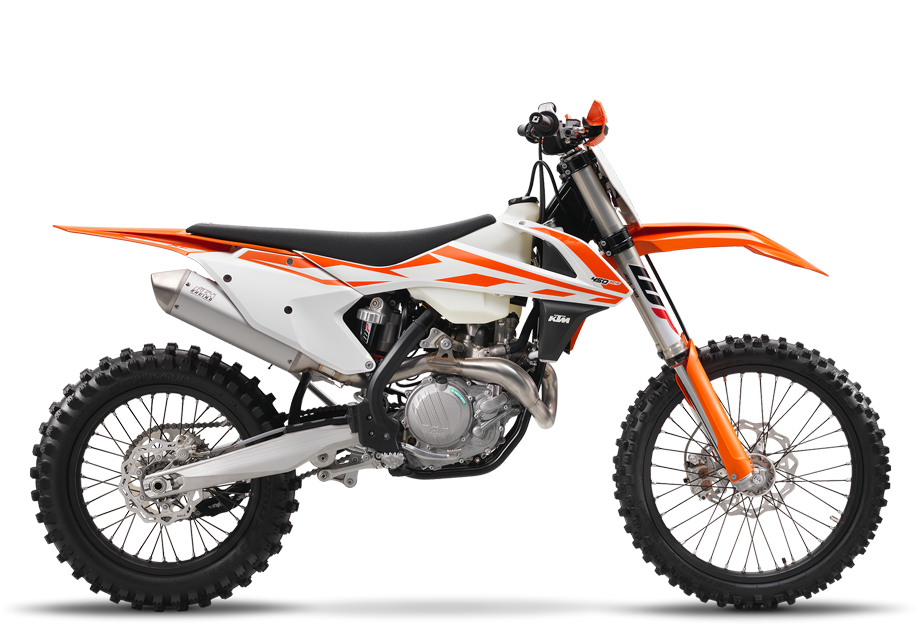 2017 KTM 450 XC-F in Orange, California