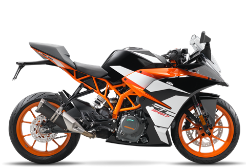 2017 KTM RC 390 in Oxford, Maine