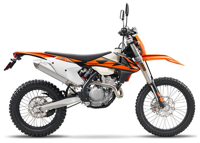 2018 KTM 250 EXC-F in Paso Robles, California