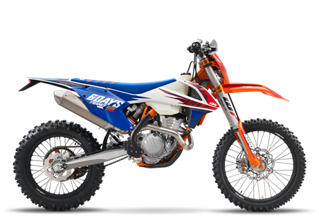 2018 KTM 450 EXC-F Six Days in Goleta, California