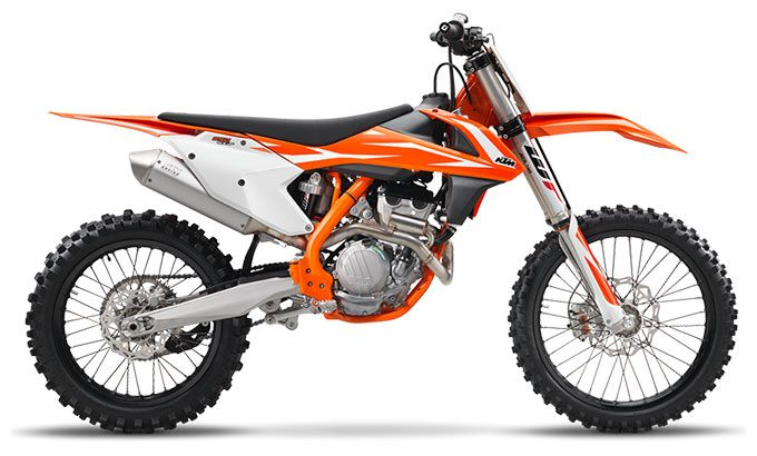 2018 KTM 250 SX-F in Gresham, Oregon