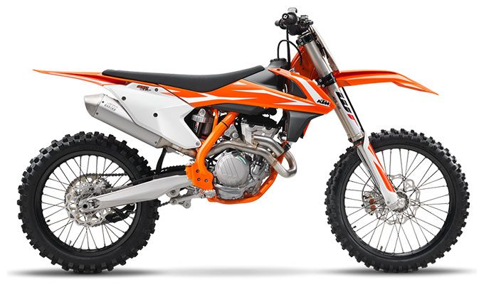 2018 KTM 350 SX-F in Johnstown, Pennsylvania