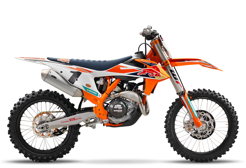 2018 KTM 450 SX-F Factory Edition in Bennington, Vermont