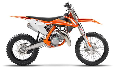 2018 KTM 85 SX 17/14 in Grass Valley, California