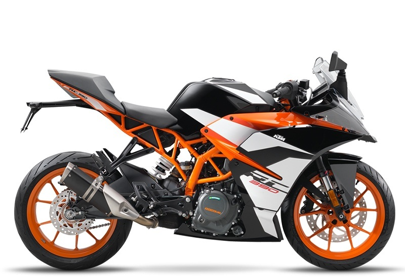 2018 KTM RC 390 in Olympia, Washington
