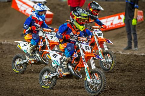 2020 KTM 50 SX Mini in La Marque, Texas - Photo 4