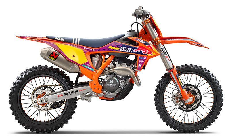 2021 KTM 250 SX-F Troy Lee Designs in Evansville, Indiana
