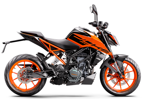 2021 KTM 200 Duke in Johnson City, Tennessee