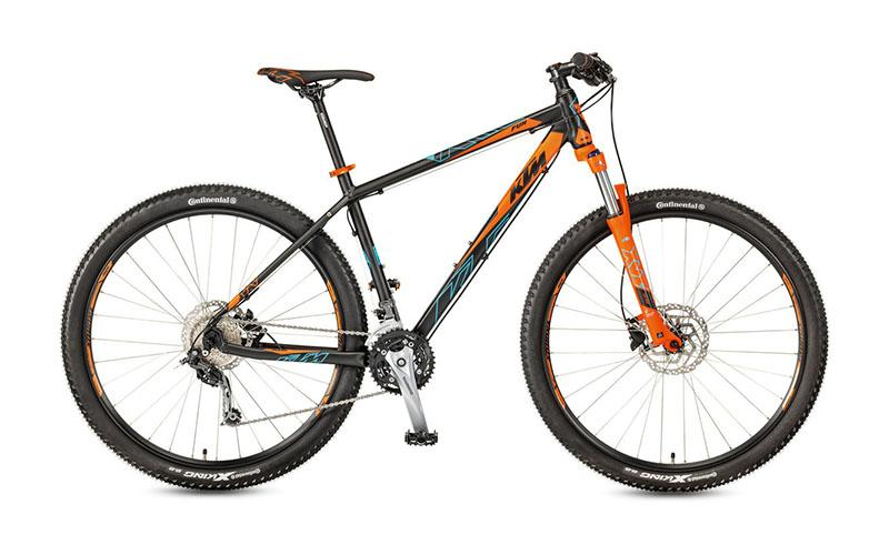 new 2017 ktm bike industries ultra fun 29 black orange. Black Bedroom Furniture Sets. Home Design Ideas