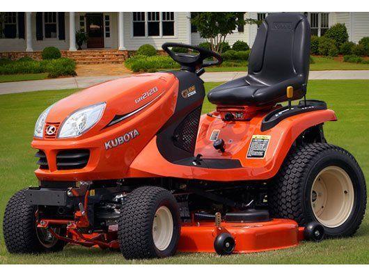 Kubota Lawn Tractors : New kubota lawn tractor gr mowers in