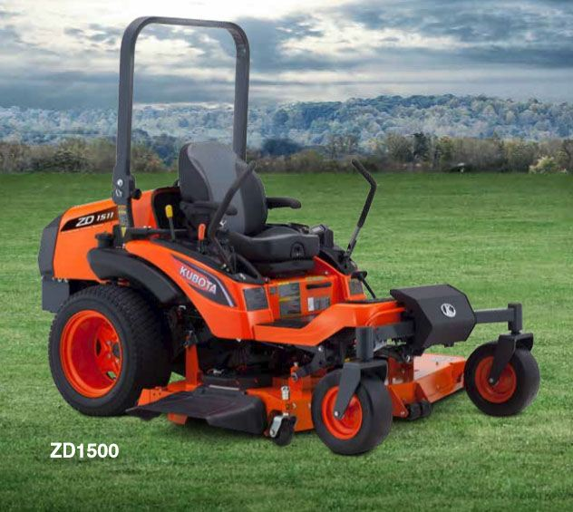 2017 Kubota Zero-Turn Mower (ZD1511RL-60R) in Beaver Dam, Wisconsin