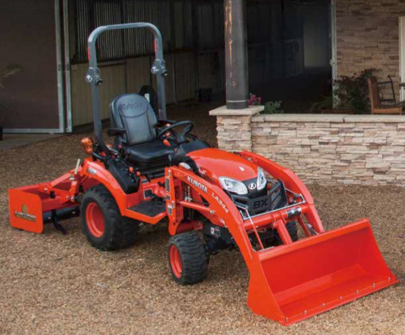 2017 Kubota BX23S Quick-Attach Loader (LA340S) in Beaver Dam, Wisconsin