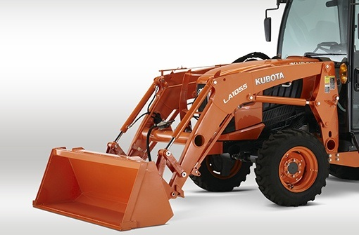 2017 Kubota Front Loader (LA805) in Fairfield, Illinois