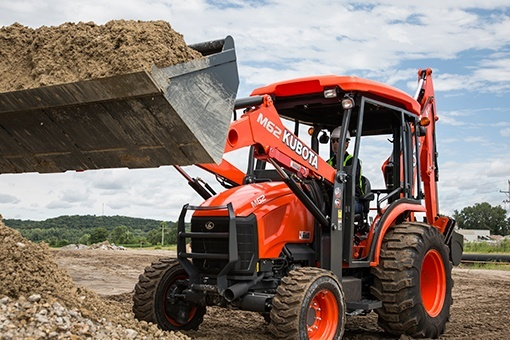 2017 Kubota M62 TLB Loader (TL1800) in Fairfield, Illinois