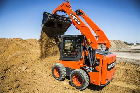 2017 Kubota Skid Steer Loader (SSV65) in Beaver Dam, Wisconsin