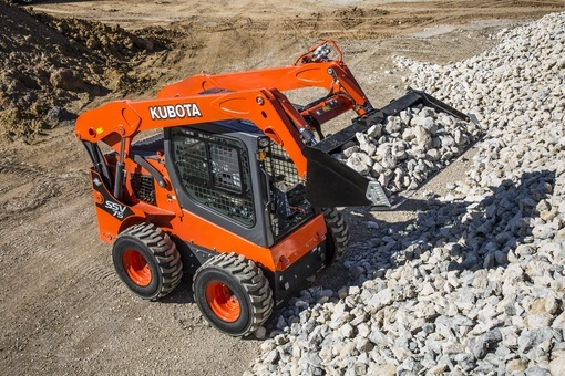 2017 Kubota Skid Steer Loader (SSV75) in Beaver Dam, Wisconsin - Photo 2